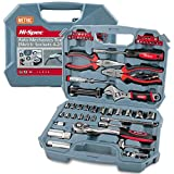 Hi-Spec 67 Piece Metric Auto Mechanics Tool Kit Set. Sockets & Hand Tools