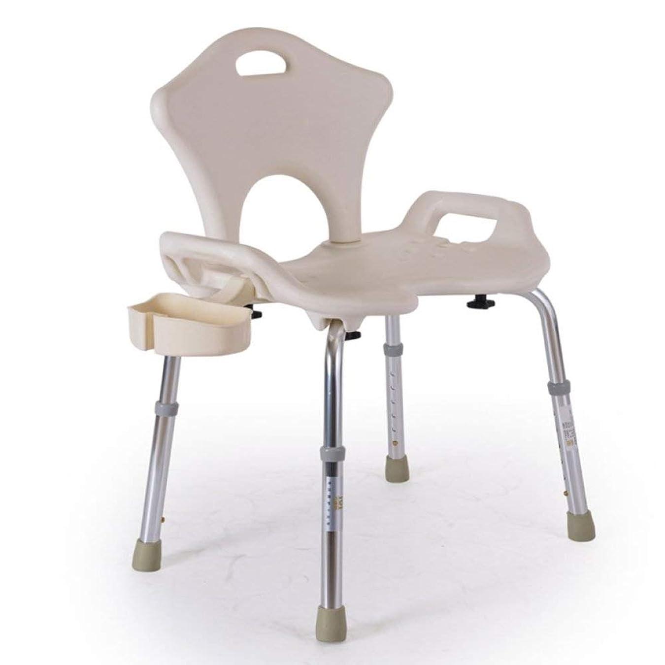 ペリスコープ選出する非難する浴室の椅子、アルミニウム合金の折り畳み式滑り止め風呂椅子