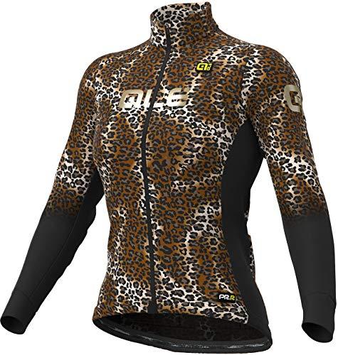 Alé Cycling Graphics PRR Maculato Micro Maglia a maniche lunghe, da donna, nero, taglia S 2020, maglia da ciclismo a maniche lunghe