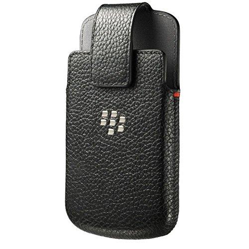 Blackberry ACC-60088-001 Lederholster mit Drehclip Classic in schwarz