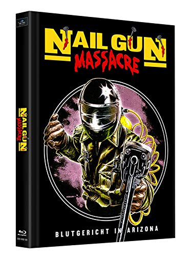 Nailgun Massacre - Mediabook - Cover C - Limited Edition auf 125 Stück (+ Bonus-Blu-ray: Die neunschwänzige Katze)