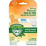 TropiClean Natural Flea & Tick Spot On Treatment for Small Dogs up to 35lbs.