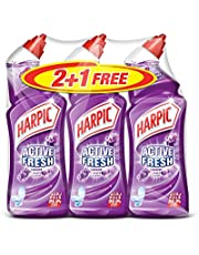 Harpic Toilet Cleaner Liquid Active Fresh Lavender, 750ml, Pack of 3