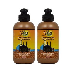 Silicon Mix Moroccan Argan Oil Leave-In Conditioner 8oz/236mL