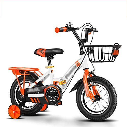 DODOBD Kids' Bicycles, 12/14/16/18 inch Children's Bicycle boy 2-3-4-6-7-10 Years Old Girl Baby Bicycle Child Folding Stroller Balance or Training Wheels, Adjustable Seat