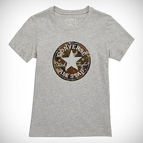 Converse Star Camo Fill CP Crew Tee T-Shirt pour Femme Bleu (Hyper Royal)