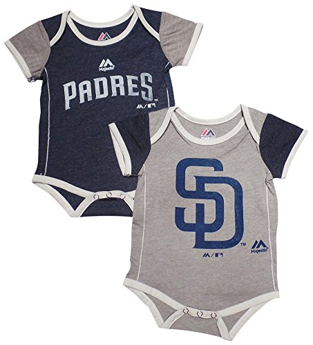 San Diego Padres Baby/Infant 2 Piece Creeper Set 24 Months