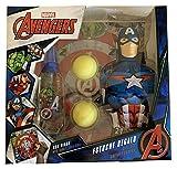 Avengers Marvel estuche EdT 90 ml,Figura Capitán América Gel 350 ml, Bolas & Diana