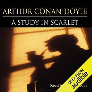 A Study in Scarlet                   Written by:                                                                                                                                 Arthur Conan Doyle                               Narrated by:                                                                                                                                 Derek Jacobi                      Length: 4 hrs and 41 mins     Not rated yet     Overall 0.0