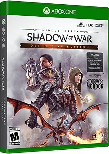 Middle Earth: Shadow of War – Complete Definitive Edition – Xbox One