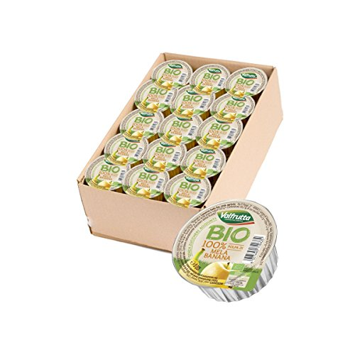 Valfrutta - Polpa di mela e banana 60 pz