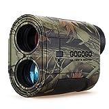 Gogogo Sport Vpro 6X Hunting Laser Rangefinder Bow Range Finder Camo Distance Measuring Outdoor Wild...