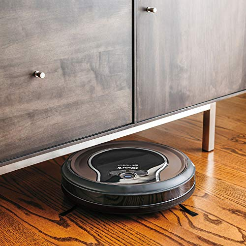 Shark ION Robot Dual-Action Robot Vacuum Cleaner with 1-Hour Plus of Cleaning Time, Smart Sensor Navigation and Remote Control (RV725)