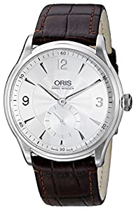 Oris Men's 39675804051LS Artelier Manual Wind Silver Dial Watch Find Prices and For Sale and review