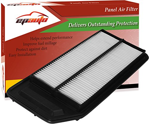 EPAuto GP564 (CA9564) Replacement for Honda / Acura Extra Guard Rigid Panel Engine Air Filter for Accord L4 (2003-2007), TSX (2004-2008)