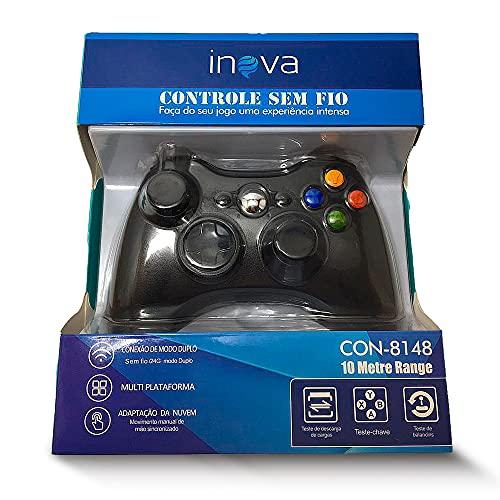Controle para Xbox 360 Inova sem fio Wireless - Preto