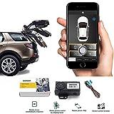 Smartphone PKE Keyless Entry Remote Control Locking/unlock Kit ,3-5M APP Bluetooth Automatic Trunk Opening ,80-100M Smart Key Lgnition Shaking Shock Sensor Car Alarm system