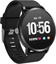 YoYoFit Smart Fitness Watch with Heart Rate Blood Pressure Monitor, Waterproof Fitness Activity Tracker Step Counter with ...