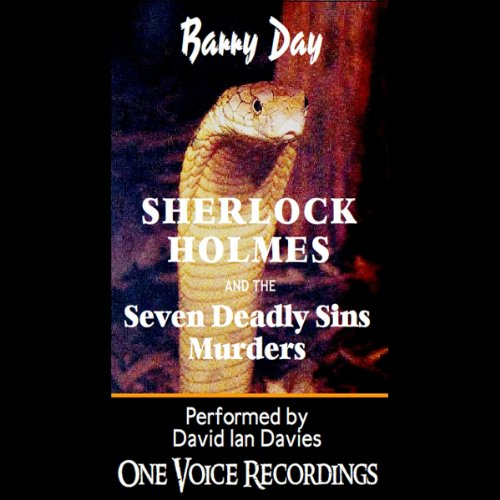 Sherlock Holmes and the Seven Deadly Sins Murders audiobook cover art