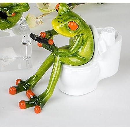 Formano 1 Nilpferd Hugo YOGA Kunststein naturfarben Deko Figur Modell wählen ♥