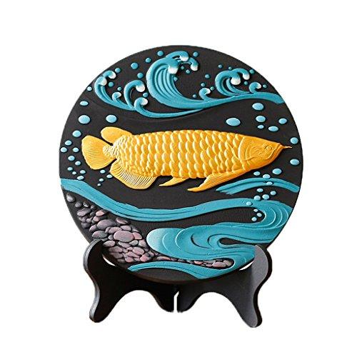 LQ Chino Moderno Accesorios para el hogar Carbon Carving decoración Sala de Estar Dormitorio gabinete de Vino decoración artesanía decoración Adornos Suerte Artesanía