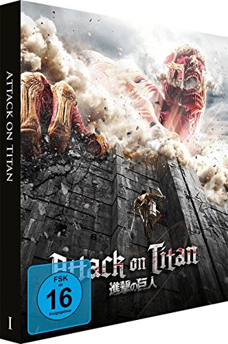 Attack on Titan - Film 1 - [Blu-ray] Steelbook