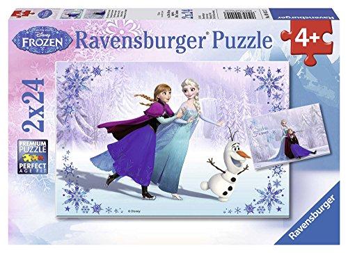 Disney Frozen- Sisters Always Rompecabezas 2 x 24