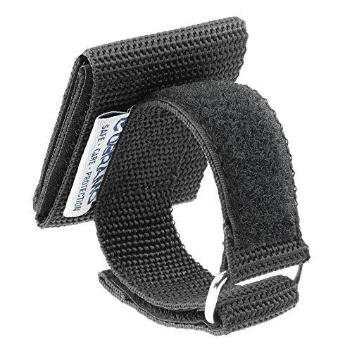 OBRAMO Handschuhhalter Polizei Security für Einsatzhandschuhe, horizontale Trageweise, Diensthandschuhe Koppel Gürtel Halterung