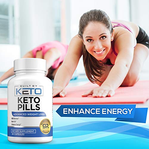 Keto Pills - Weight Loss for Women and Men - Ketogenic Diet BHB Salts - Exogenous Ketones Supplement - Burn Fat for Fuel - Xtreme Lean Ketosis Fat Burner for Fast Weightloss - 60 Capsules 3