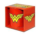 Logoshirt Wonder Woman Taza de Cafe - DC Comics Taza - Diseño Original con Licencia
