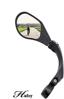 Hafny 2019 New Handlebar Bike Mirror, HD,Blast-Resistant, Glass Lens, HF-MR088LS