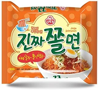 Ottogi Sweet & Spicy Cold Noodle Jinjja Jjolmyeon ???? 4 Pack