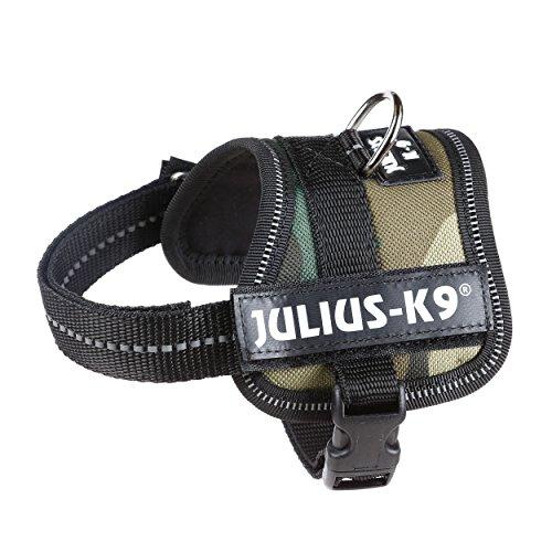 Julius-K9, 162M-BB1, Harnais K9 Power pour chiens, Taille: Baby 1, Camouflage Armée
