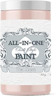 Tea Rose, Heritage Collection All in One Chalk Style Paint (NO Wax!) 16oz Pint