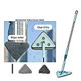 Best Microfiber Mops - MEXPONE Rotatable Triangle Mop with Long Handle, Microfiber Review