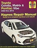Toyota Corolla 2003-2011 Repair Manual (Haynes Repair Manual)
