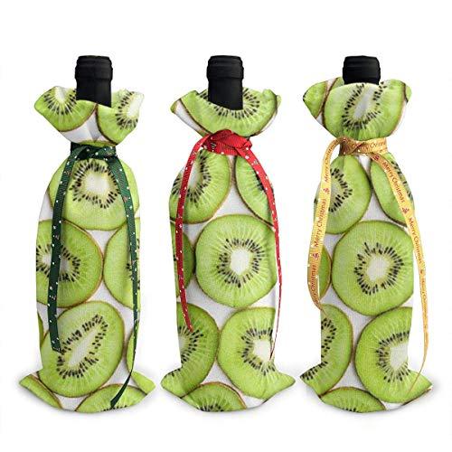 3 x Kiwi-Weinflaschen-Abdeckungen, Geschirr, Dekoration