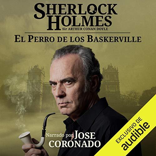 Diseño de la portada del título Sherlock Holmes - El perro de los Baskerville