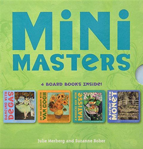 Mini Masters Boxed Set (Baby Board Book Collection, Learning to Read Books for Kids,