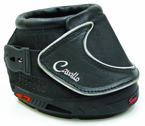 Cavallo Sport Hufschuh Slim Sohle, schwarz