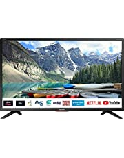 """SHARP 32BC5KH2FB 32"""" Smart HD Ready LED TV - Black (Freeview HD with Freeview Play)"""