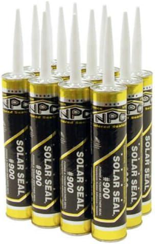 NPC Sealants Solar Seal 900 10oz. Ranking TOP8 12 Pebbl Carton 981 Max 69% OFF Tube of