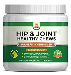 Hip and joint supplement for dog OA