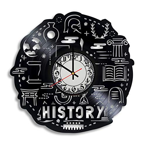 History Teacher Vinyl Wall Clock