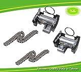Tensor de cadena Set para B-M-W E31, E38, E39, E53, E60, E61, E63, 840 Ci X5 740i M62 4.4L V8