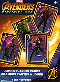 Marvel Avengers Infinity War - Jumbo Playing Cards Grandes Cartes a Jouer