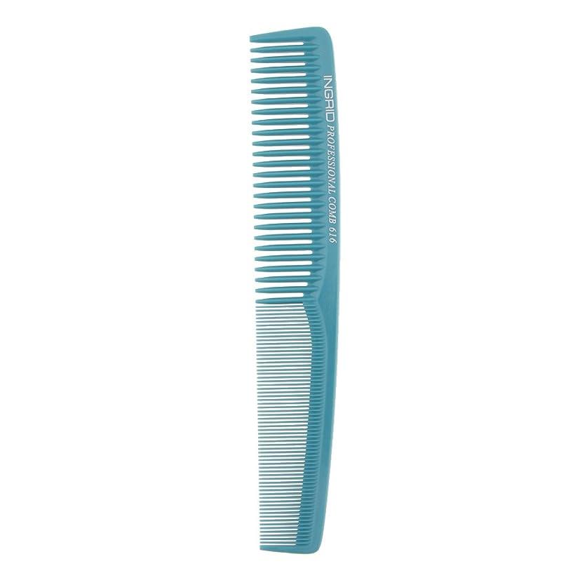 新しい意味次包帯プロサロンヘアースタイリング理髪帯電防止理容室もつれ櫛ブラシ - ライトブルー