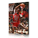Michael Jordan NBA Legenden Stern Canvas Prints Poster