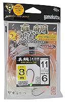 がまかつ(Gamakatsu) 真鯛吹き流し 2本仕掛 8m FF252 11-6