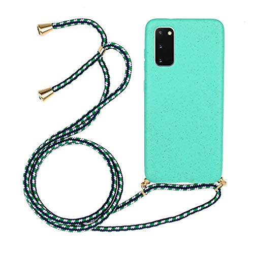 6City8Ni Hand Strap Lanyard Holder für Samsung S20 Plus,Girls Colorful Anti-Scratch Silikon Hülle Flexible Gel TPU Bumper Made Easy with Comfortable On-The-go